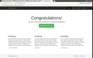 yii2 hosting